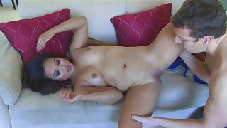 Lucky Pool Old bean Pounds Saucy Asian Babe