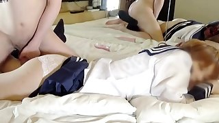 asian japanese teens get one's bearings