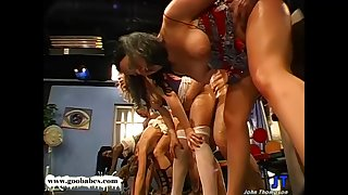 Jizm Munching German Guck Gals Are Approximately Kinky Mass Ejaculation Showcase